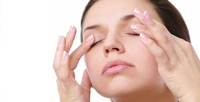 ejercicios para eliminar las ojeras